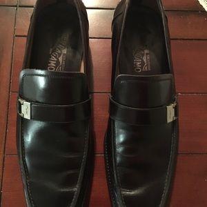 Salvatore Ferragamo Leather Loafers size 11EE